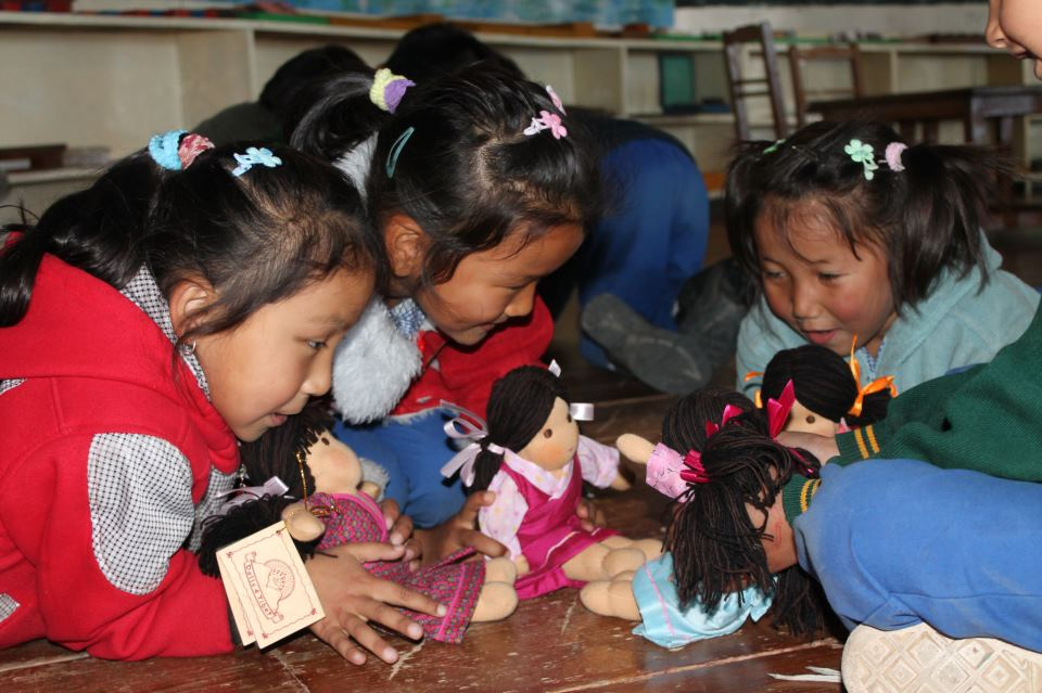 Dolls4Tibet – employment and training for Tibetan women living in exile in India