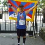 Ivan Mostyn-Scott Tibet Flag