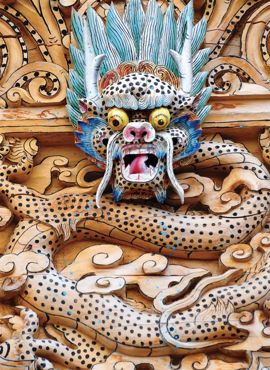 Greeting Cards - Tibetan Woodcarving
