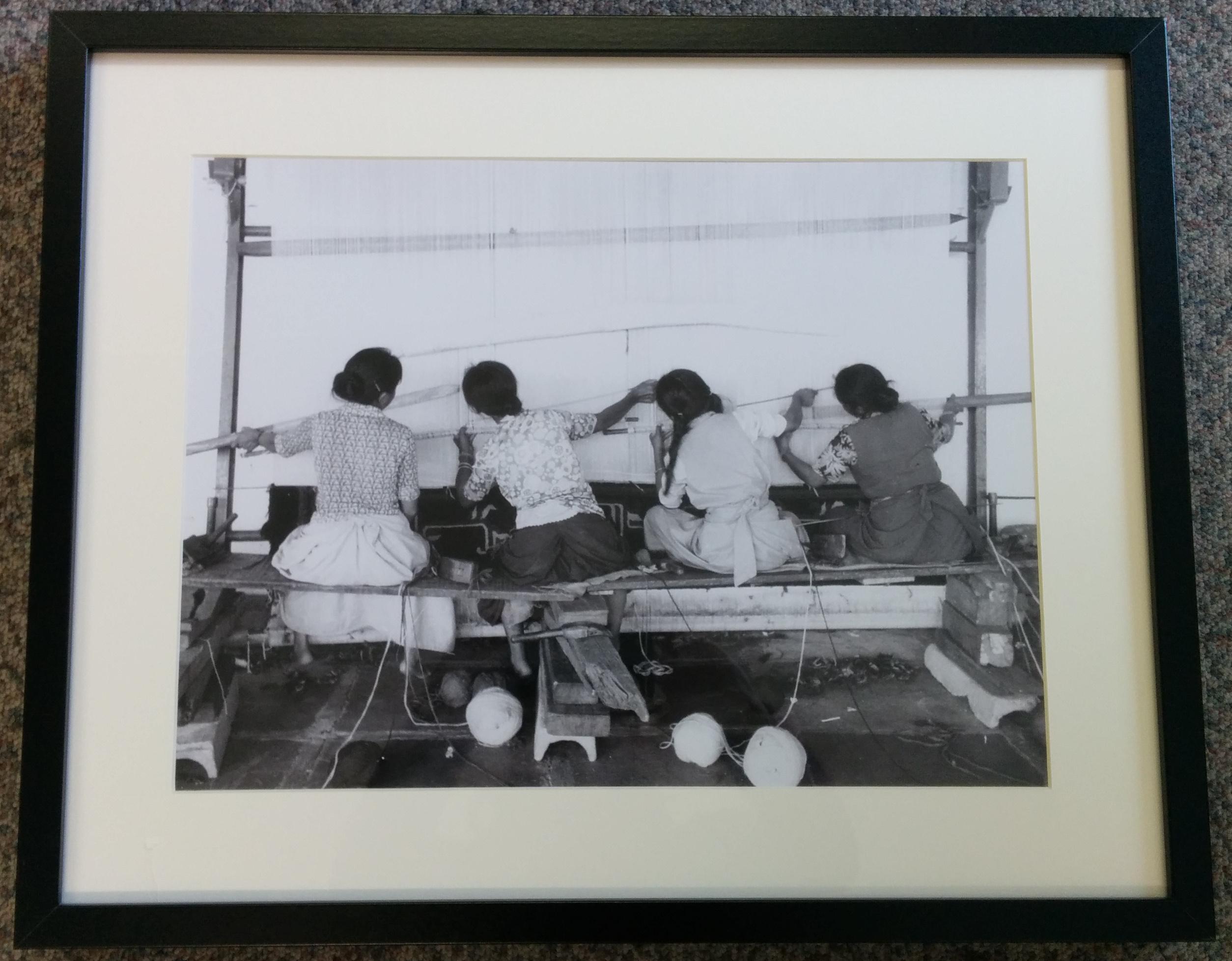 Tibetan Women Carpet Weaving