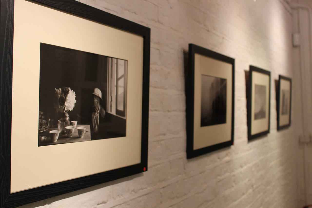 Photographs at the exhibition