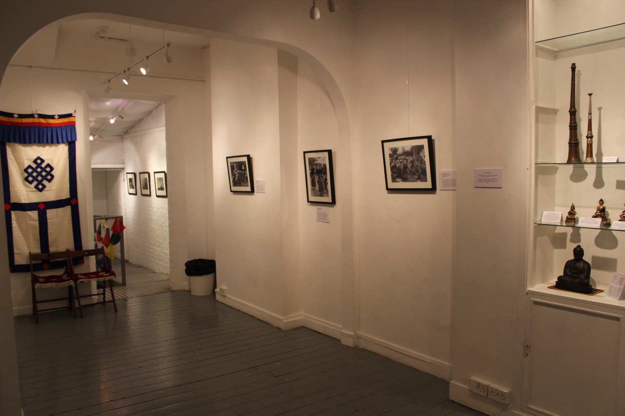 The finished exhibition_ready for people to arrive