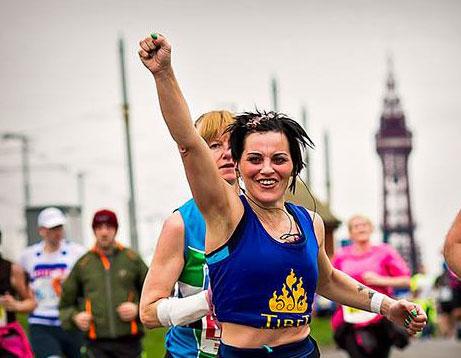 A marathon and a half! Ed Jones and Georgia Brown raise money for Tibet Relief Fund