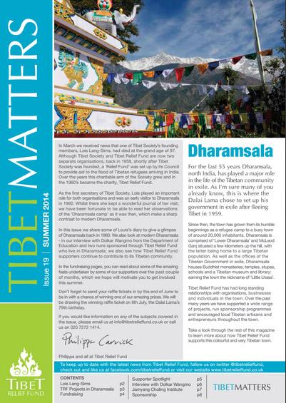 Tibet Matters - Issue 19
