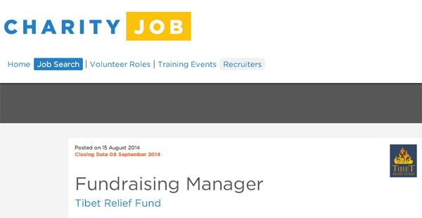 (Closed) Are you a fundraiser with 3 years experience?