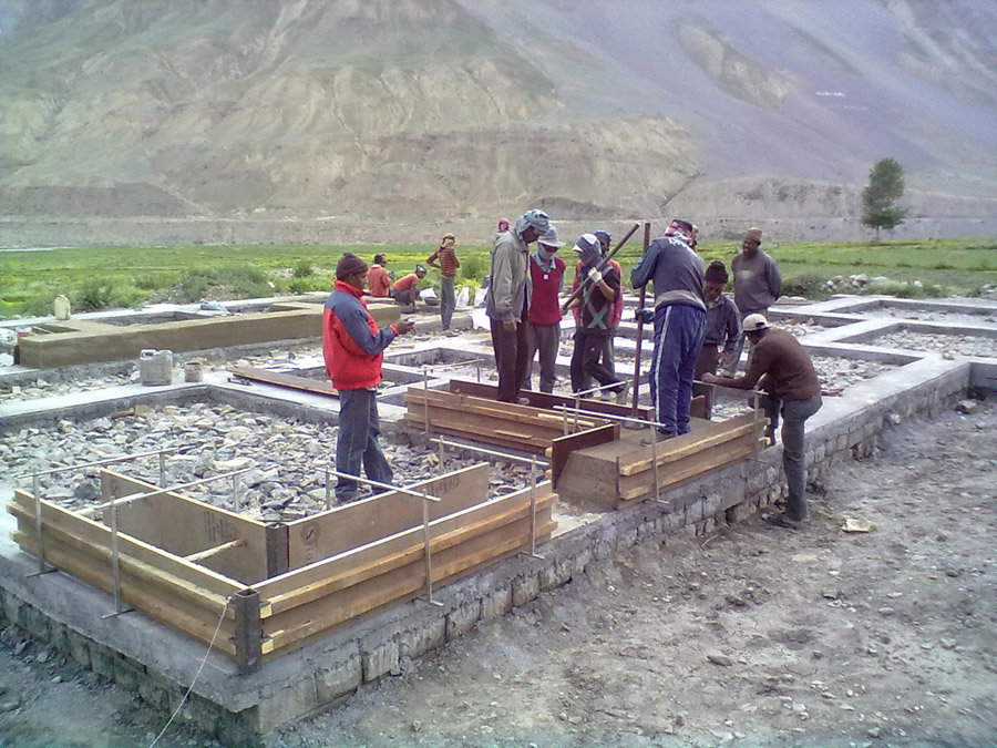 Spiti Clinic moves forward thanks to our funding
