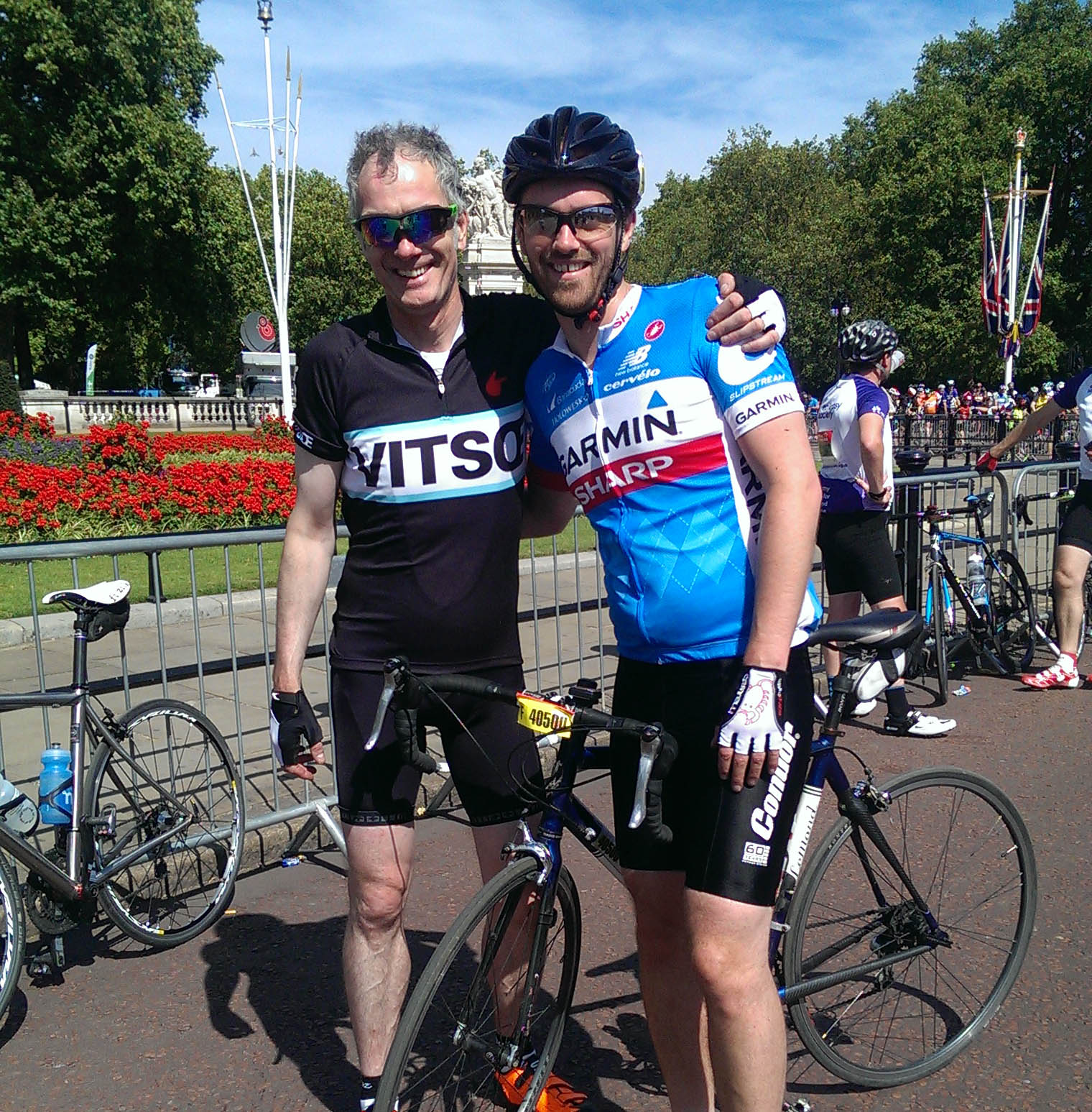 Congratulations to our two Ride London 100 fundraisers