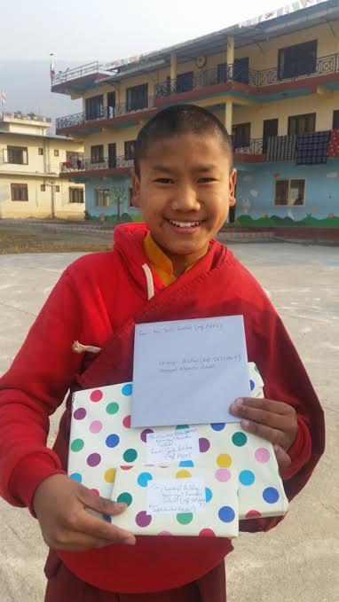 Tashi delek from Namgyal Monastic School