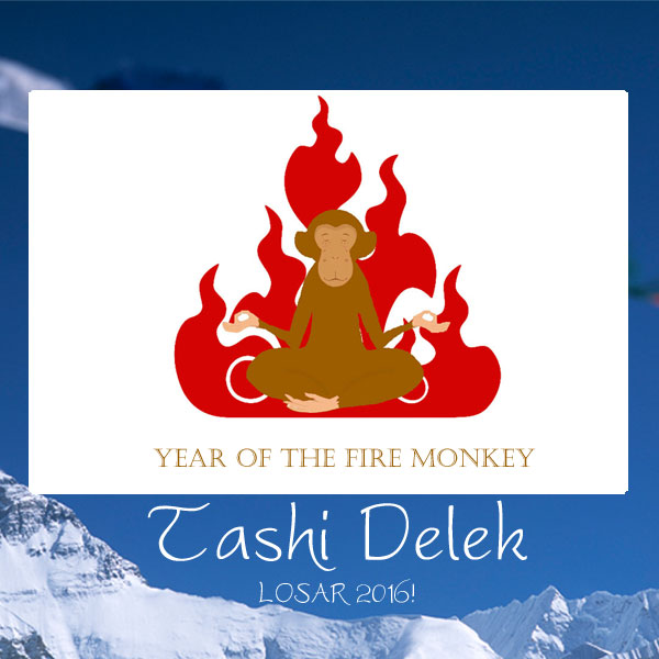 Losar 2016: The Year of the Fire Monkey