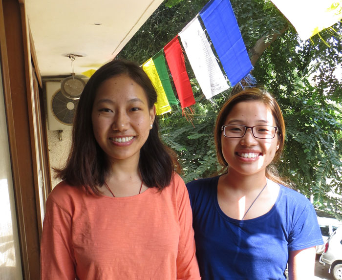 Tibet Relief Fund annual review: Nurses from Nepal
