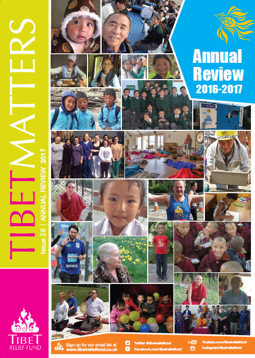 Tibet Matters Annual Review 2016 – 2017 – How your money has helped 1000s of Tibetans