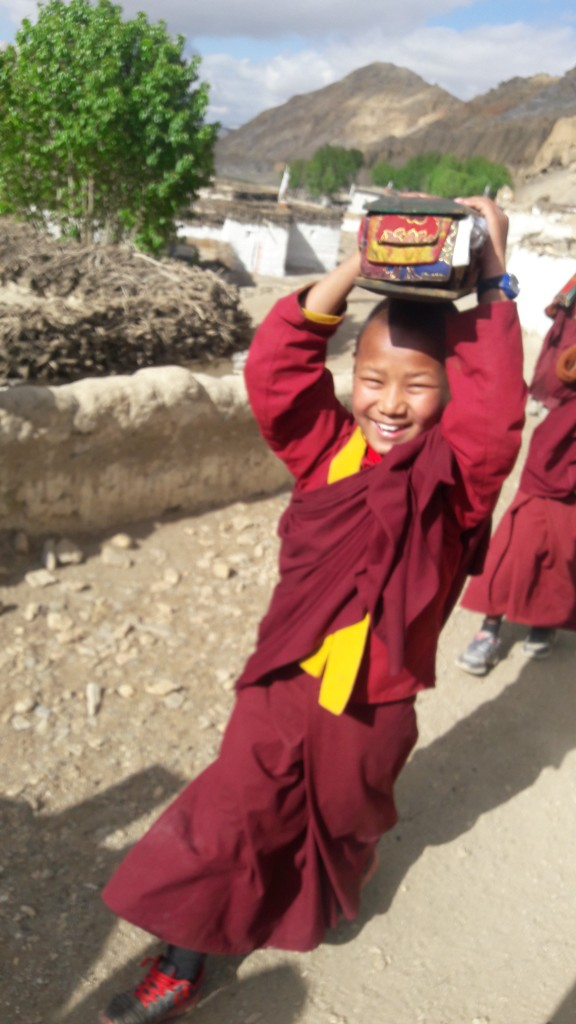 Our young monks on an incredible journey