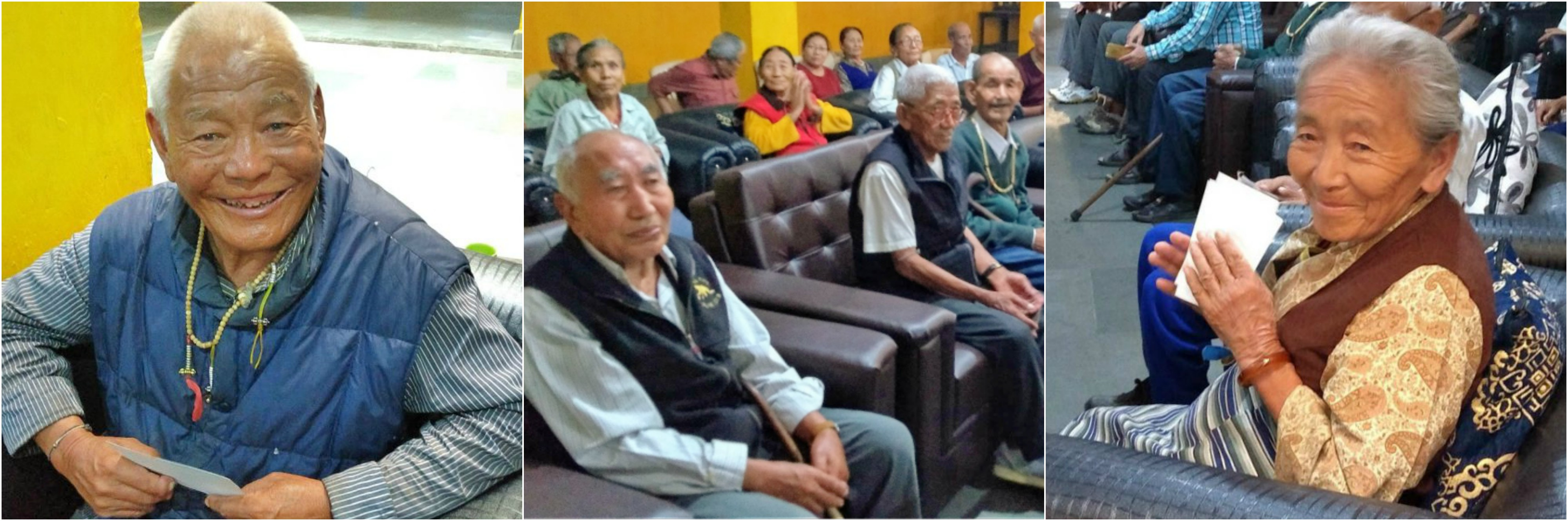 Tibet Matters Annual Review: So-fa So Good – Comfort For Tibetan Elders – £2,407