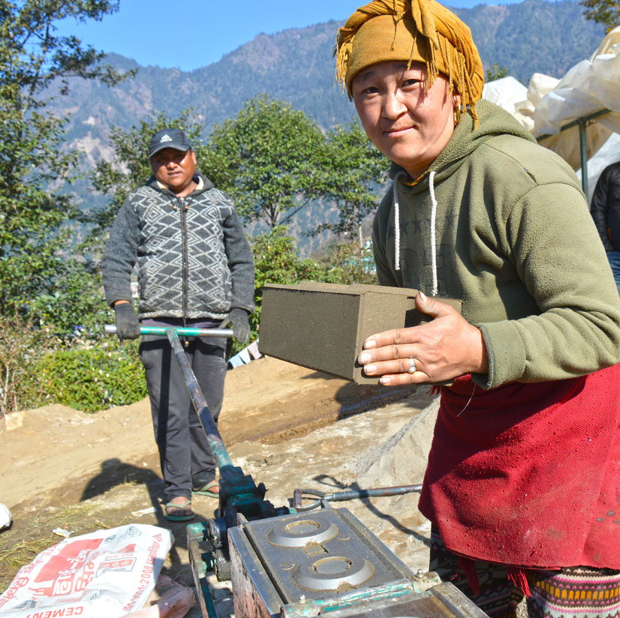 Tibet Matters: You are building homes for the vulnerable!