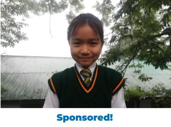 Tenzin Choeyang –  F –  Tibetan Homes Foundation, Mussoorie