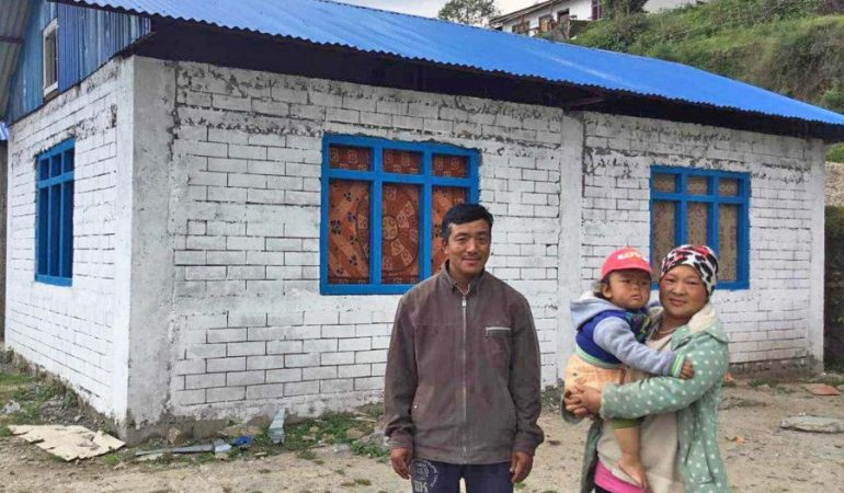 Bricks for Bakhang – houses completed!