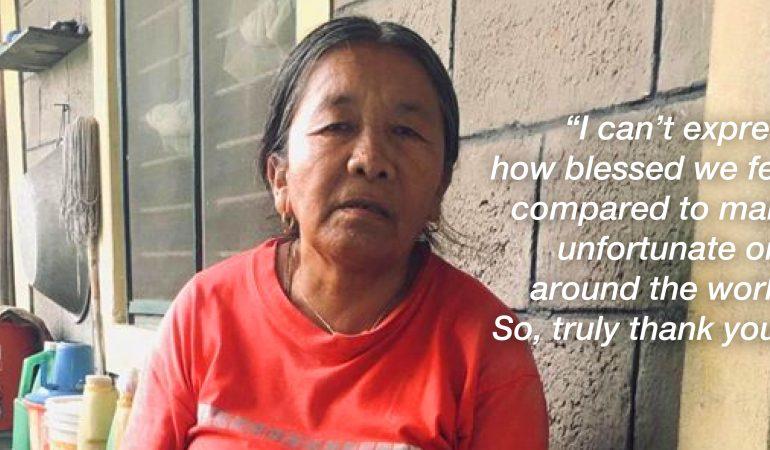 Update from Lodrik settlements in Pokhara, Nepal