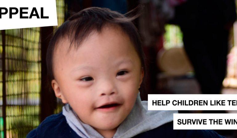Appeal: Help children like Tenzin survive the winter