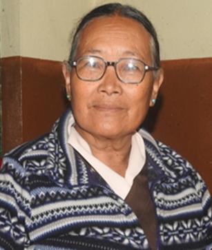 Mrs Tashi Yangkyi –  Mussoorie, India