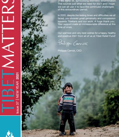 Read our latest Tibet Matters #37 – Tashi Delek and happy Losar [PDF]