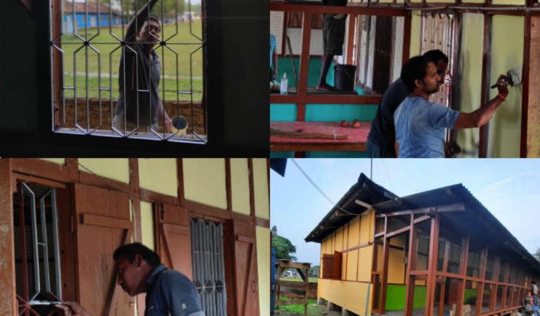Project update: Vital refurbishment for a creche in Miao, Arunachal Pradesh, India