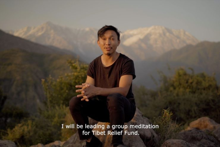 Meditate for Tibet 2021: A video message from Tenzin Phuljung