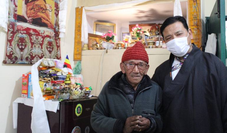 Tibet Matters Annual Review: Help for elders in India and Nepal