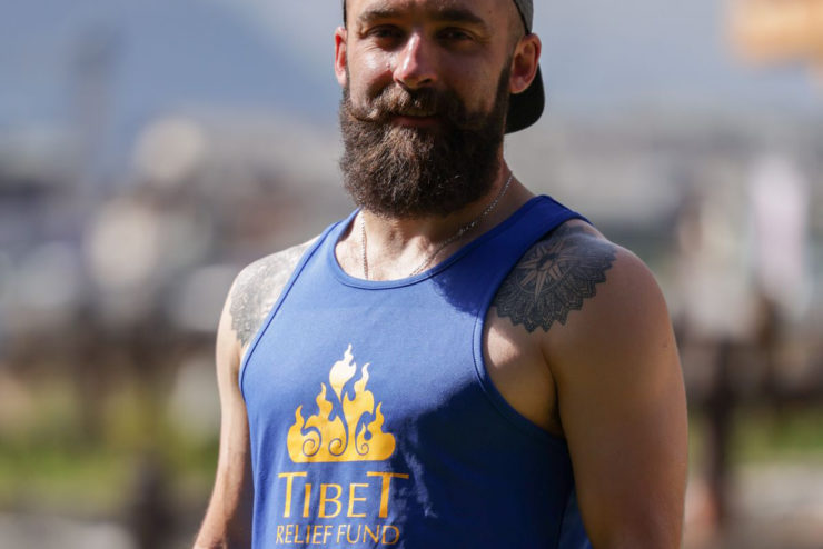 Chris will run the Madrid Marathon on 26 September for Tibet Relief Fund and Crisis