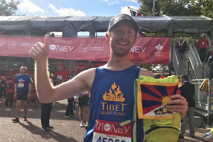 Congratulations to Graham – £2,000 raised for Tibetan communities